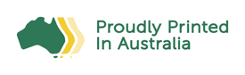 Proudly Printed In Australia Logo